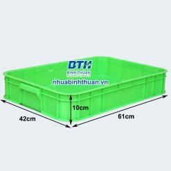 Thùng nhựa công nghiệp 2 sóng bít - Nhựa Bình Thuận tại Hà Nội