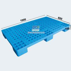 Pallet 1000x600x100 Nhựa Bình Thuận - Số lượng lớn- Giá đại lý