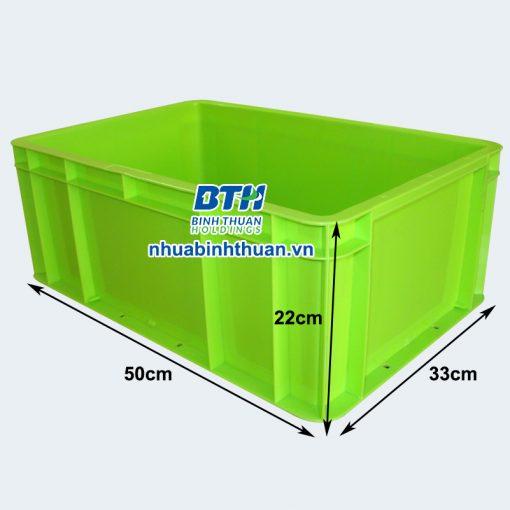 Thùng nhựa công nghiệp TTP331 - Nhựa Bình Thuận tại Hà Nội