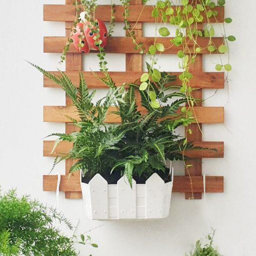 Chậu hoa nhựa treo tường đẹp - Nhựa Bình Thuận tại Hà Nội