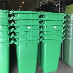 Số lượng lớn thùng rác công nghiệp Nhựa Bình Thuận