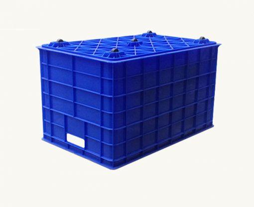 Thùng nhựa có bánh xe- Nhựa Bình Thuận - Số lượng lớn - Giá sỉ, giá đại lý