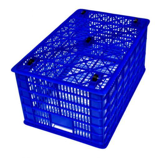 Sọt nhựa có bánh xe- Nhựa Bình Thuận - Số lượng lớn - Giá sỉ, giá đại lý