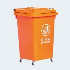 Thùng rác côngcộng 60 lít - Nhựa Bình Thuận tại Hà Nội
