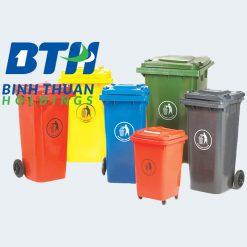 Thùng rác công cộng Nhựa Bình Thuận tại Hà Nội