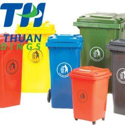 Thùng rác công nghiệp Nhựa Bình Thuận